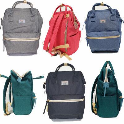 2 in 1 Damen Canvas Rucksack Tablet Laptop Tasche Schwarz City Wickel Backpack | eBay