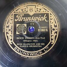 78rpm DUKE ELLINGTON mood indigo / runnin` wild  01068