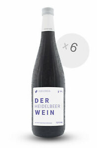 6er Box DER HEIDELBEERWEIN 1L 12,5 % Vol. Frucht-Dessertwein