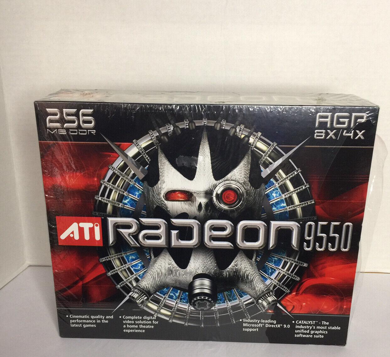 ATI Radeon 9550 Video Card Brand New Factory Sealed