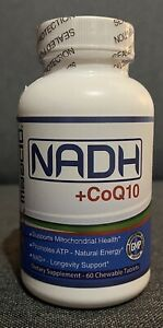 Maac10 NADH + CoQ10 Dietary Supplement - 60 Chewable Tablets (Exp. 06/22)