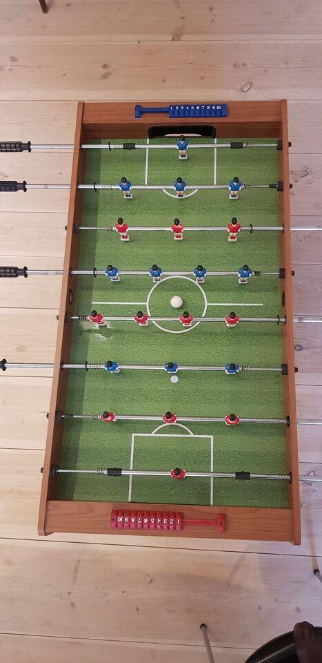 Bordfodboldbord med teleskopstænger, Bordfodbold,