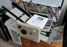 New Listingmartin Yale 1217a Automatic Autofolder Paper Letter Feed Folding Machine