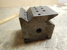 Older Machinist Multi V Block Grinding Or Cutoff Turret Jig Fixture
