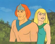 Herculoids Zandor Tarra production animation cel Hanna Barbera 1981-2 COA 2*