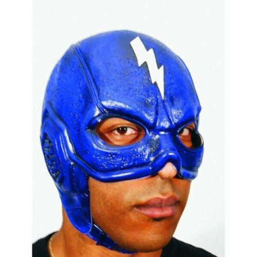 Blue Thunderbolt Superhero Headpiece