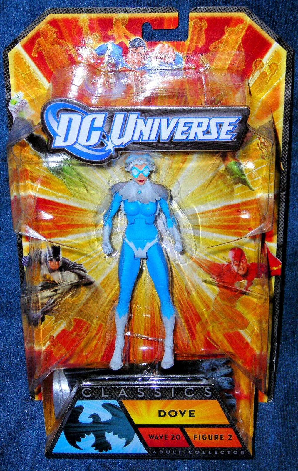DOVE DC UNIVERSE DAWN GRANGER TITANS JUSTICE  DOOM PATROL EARTH CLASSIC LEGENDS  Commandez maintenant