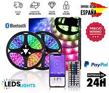 Luces LED RGB Bluetooth Multicolor 5M 10M 15M 20M Decoración Envío de...