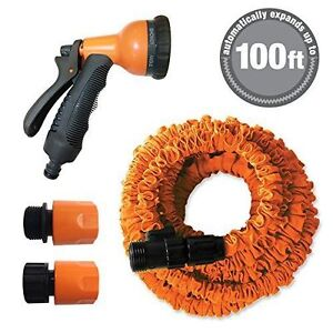 NEW 100ft Expandable Stretch Garden Hose AS SEEN ON TV eBay