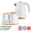thumbnail 1 - White-4-Slice-Toaster-amp-1-7L-Cordless-Water-Kettle-Jug-Kitchen-Breakfast-Set