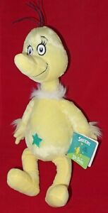 """from Dr Seuss good condition 16/"""" plush Sneetch doll"""