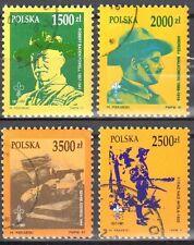 Poland 1991- Boy Scouts in Poland Mi 3357-60 used