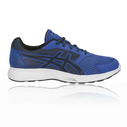 Asics Mens STORMER 2 Running Shoes Trainers Sneakers Blue Sports Breathable