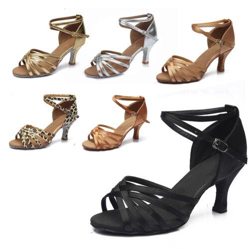 Ballroom heeled Latin Dance Shoes for Women//Ladies//Girls//Tango/&Salsa//5CM and 7CM