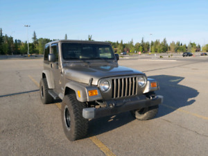 2005 Jeep TJ Sport, extremely low mileage, great shape