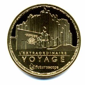 86 FUTUROSCOPE L'extraordinaire voyage 2, 2021, Monnaie de Paris