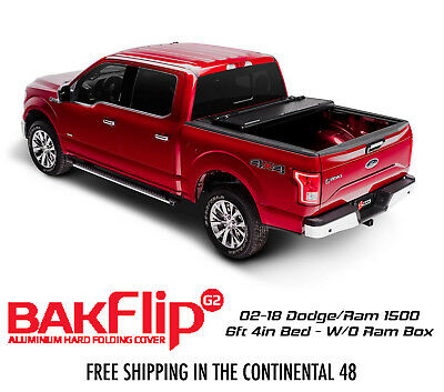 Bakflip G2 Tri Fold Tonneau Cover 02 18 Dodge Ram 1500 6ft 4in Bed W O Ram Box Ebay
