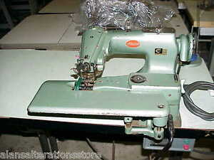 Consew 221 Industrial Blind Hemmer Felling Sewing Machine