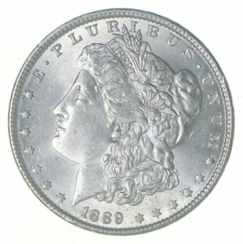 Hand Selected Unc $1 1889 Morgan US Silver Dollar Bulk Lot from BU ROLL Bulk 1