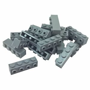 LEGO Lot of 4 Blue 2x1x1 1//3 Curved Top Brick Pieces