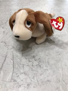 96578b60a8f Image is loading RARE-TY-Beanie-Baby-TRACKER-Dog-w-ERROR-