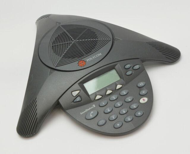Polycom Soundstation 2 2201-16200-601 Analog Audiokoferenzsystem #L365