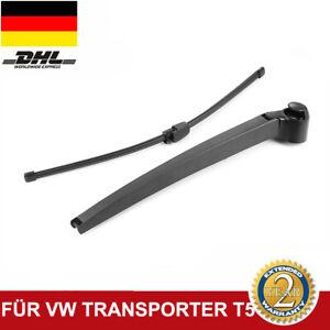 Passt-VW-MULTIVAN-BUS-T5-TRANSPORTER-BUS-T5-WISCHERARM-SCHEIBENWISCHER-HINTEN