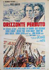 MANIFESTO, ORIZZONTE PERDUTO Lost Horizon JARROTT, FINCH, ULLMANN, YORK, FANTASY
