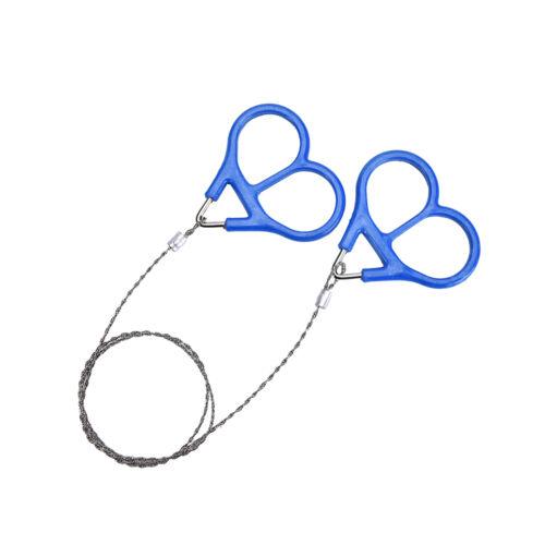 Edelstahl Ring Draht Camping Säge Seil Outdoor Survival Notfall Werkzeug PDH