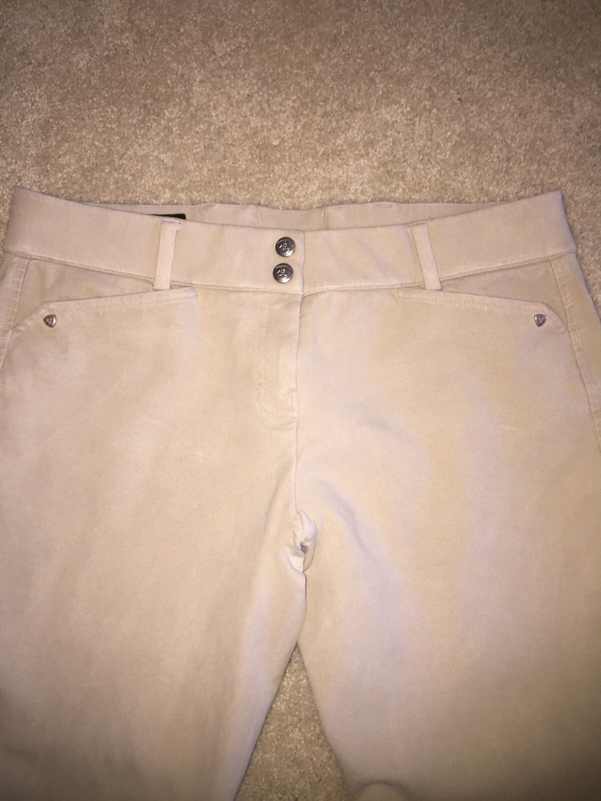 Ariat damen Heritage Low Full Zip Breech Four-Way Stretch Cotton Breathable Wor