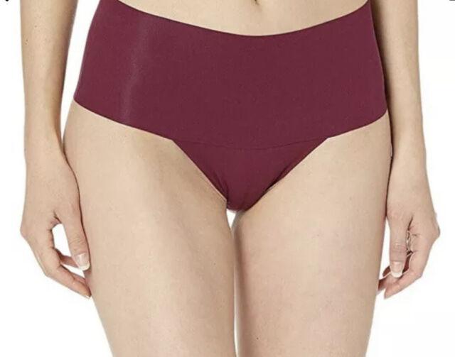 Spanx 250781 Womens Undie-Tectable Thong Underwear