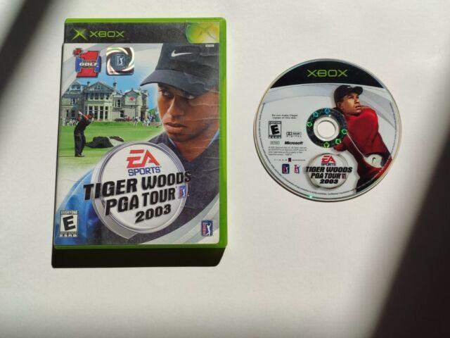 Tiger Woods PGA Tour 2003 *No manual* (Microsoft Xbox)