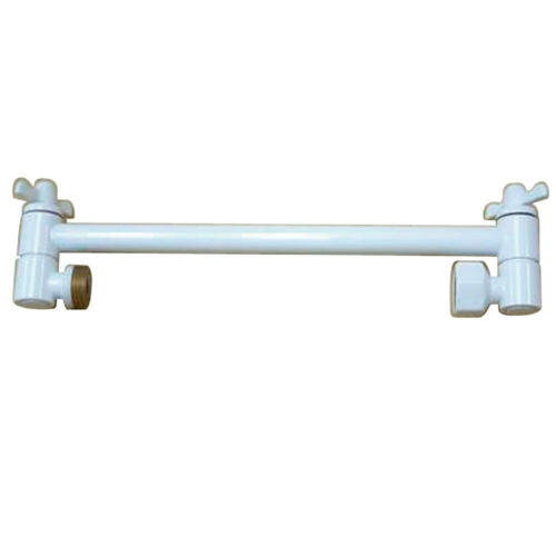 #26994 Luxtra White High Low Adjustable Shower Arm