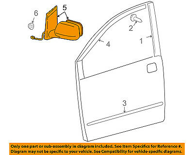 Genuine Toyota 87940-AE030-A0 Rear View Mirror Assembly