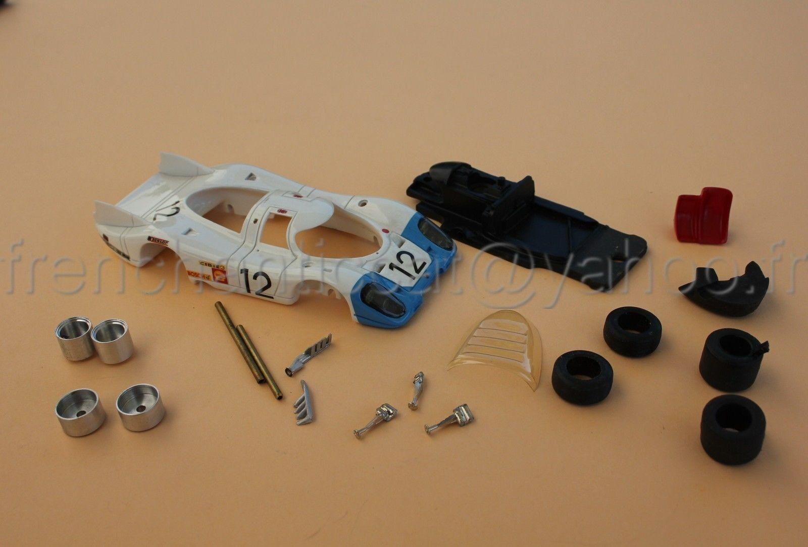 CT Voiture PORSCHE 917 LH N°12 1 43 Heco miniatures  mans Bosch Dunlop Diorama