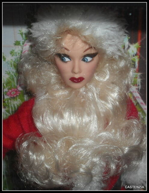 nrfb barbie mattel 2006 i love lucy the christmas show lucy ricardo santa doll - I Love Lucy Christmas