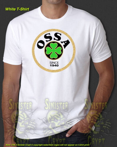 Ossa Motorcycle Racing Vintage Retro New T-Shirt S-6XL