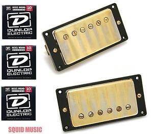 Seymour-Duncan-Antiquity-Humbucker-Set-Aged-Gold-Cover-3-FREE-STRING-SETS