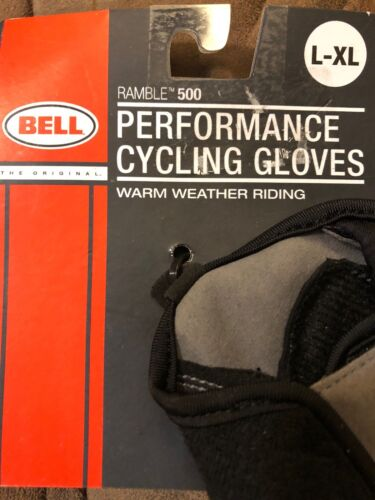 Bell ramble 500 performance cycling gloves L-XL