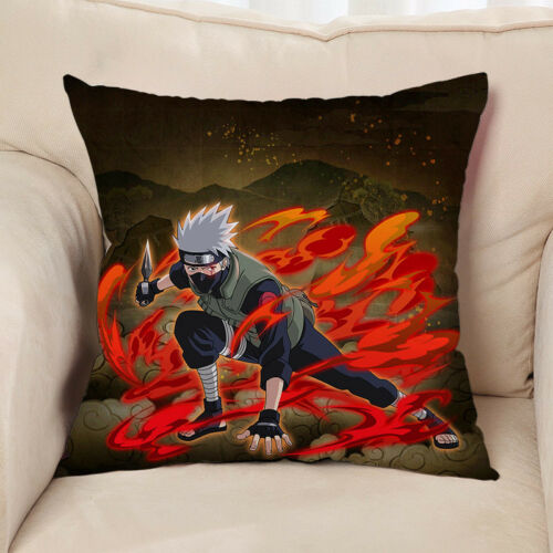 Naruto Hatake Kakashi Kissen Sofakissen Dekokissen Hülle Bezug Pillow 40x40CM