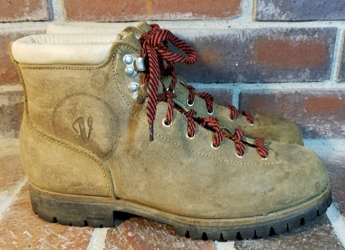 esclusivo VTG Vasque Vasque Vasque  Marrone Cowhide Alpine Mountaineering stivali - Donna  Dimensione 10  consegna e reso gratuiti
