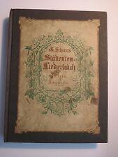 Georg Scherer - Deutsche Studentenlieder / Mit Bildern und Singweisen / illustr.
