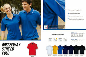 Quick Dry Ladies Breezeway Panel Polo with Piping and Striped Contrast Colour