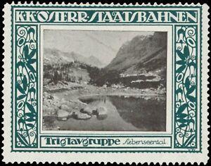 Reklamemarke-Triglavgruppe-Siebenseental-457367