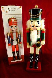 grosser-Nussknacker-Soldat-Figur-Holz-handbemalt-Weihnachten-35-cm-Advent-in-OVP
