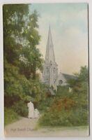 Essex postcard - High Beech Church, Epping Forest - RP