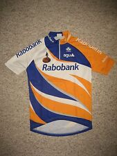 Rabobank boys Holland jersey shirt cycling wielershirt trikot size 14, 164