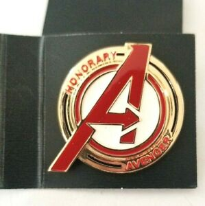 Marvel-039-s-Avengers-Earth-039-s-Mightiest-Collector-039-s-Edition-Honorary-Avenger-Pin