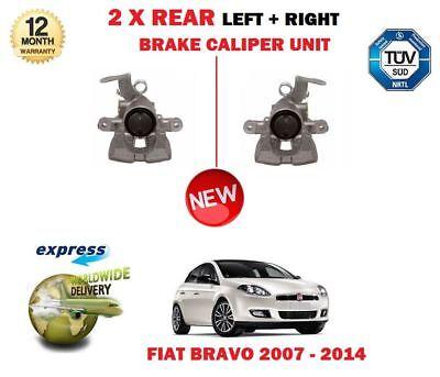 Rear Right Brake Caliper for FIAT BRAVO II 1.4 1.6 1.9 2.0 06-/>14 198 New