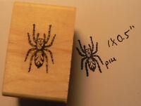 P14 Tarantula Spider Rubber Stamp Wm 0.7x0.4
